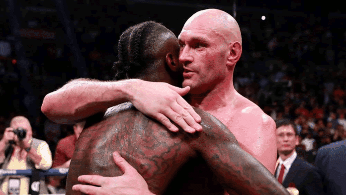 Fury Draw with Wilder.