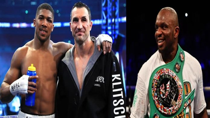 Aj's Silly Offer to Dillian Whyte.
