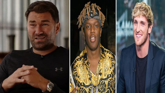 Eddie Hearn (promoter), KSI & Logan Paul.